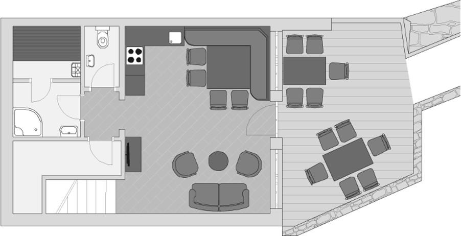 3 Schlafzimmer Chalet 2-6 Personen l Grünwald Resort Sölden