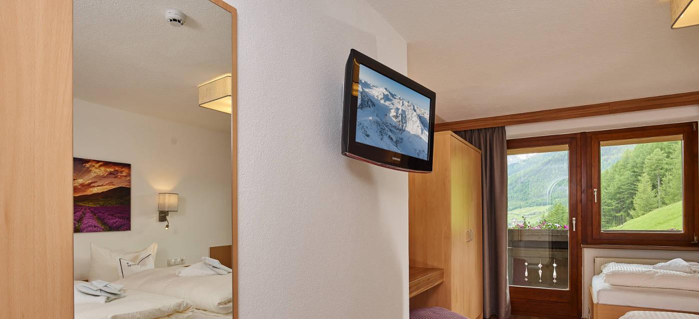 2 Schlafzimmer Appartement 2-5 Personen l Grünwald Resort Sölden