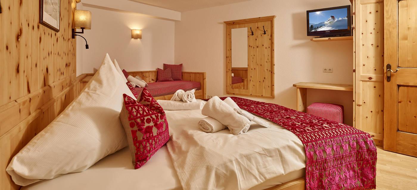 4 Schlafzimmer Chalet 2-8 Personen l Grünwald Resort Sölden