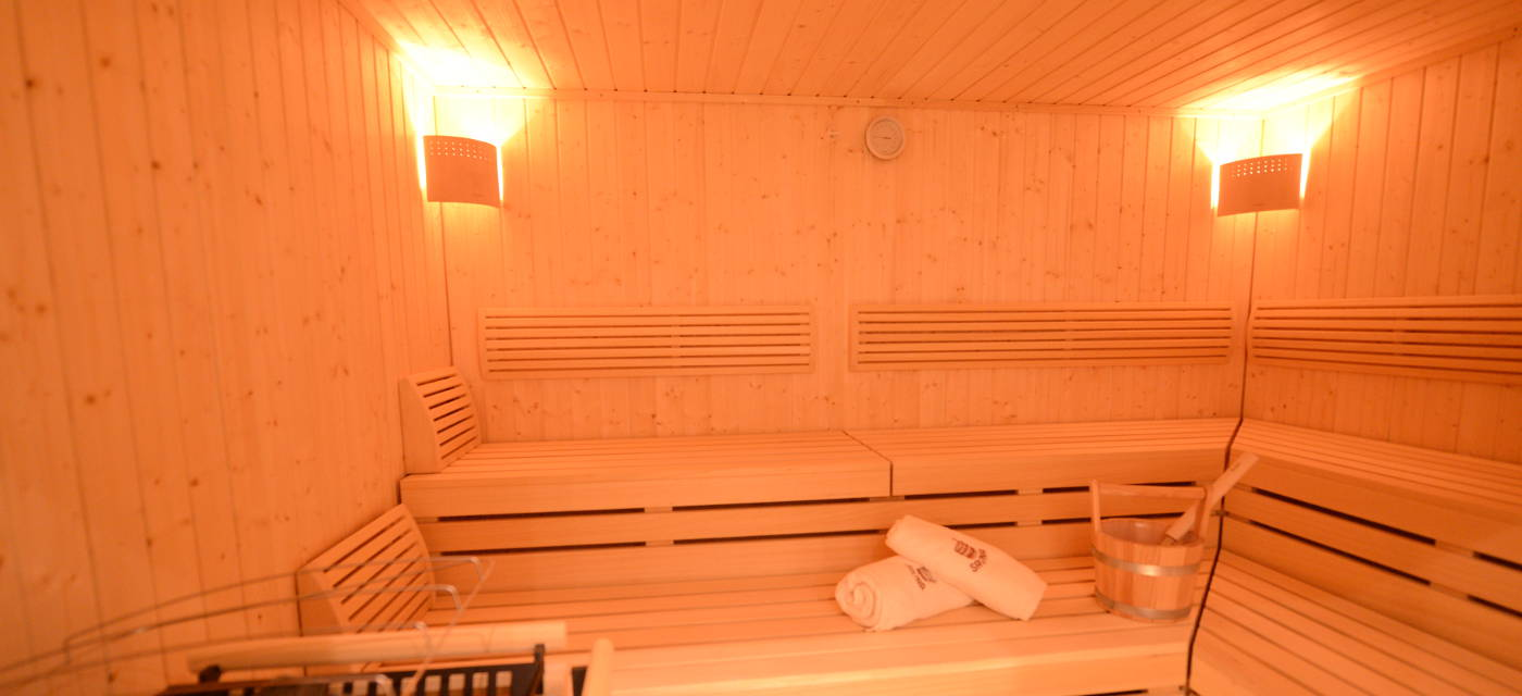 Chalet Sölden private Sauna