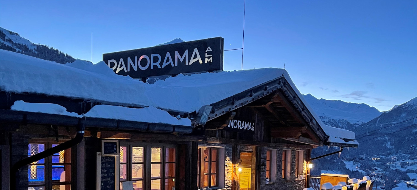 panorama alm sölden bar restaurant skihut